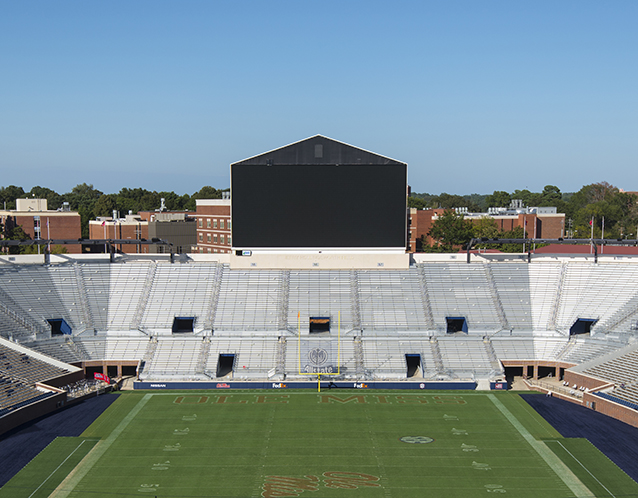 UM Vaught Hemingway North End Zone Renovation & Expansion - Oxford, MS